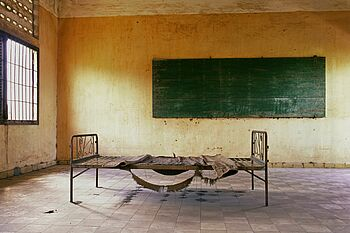 Former classroom in Prison S-21
