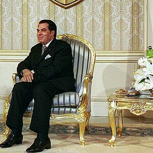 Tunisia's President Ben Ali in October 2000