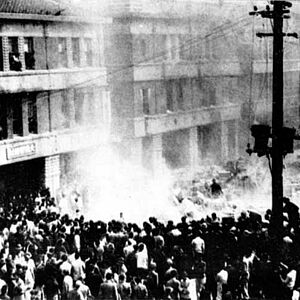 Revolt in Taipei on February 28, 1947