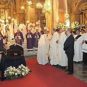 Requiem for Bishop Sergio Valech in 2010